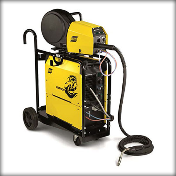 ESAB Warrior 500i welding machine